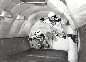 These astronauts had to do it the hard way
