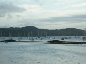 The bay in Arisaig