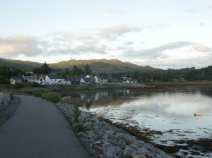 The sleepy town of Arisaig