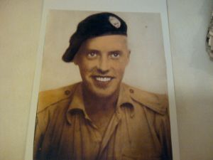 My grandfather, William Findlay Smillie, in World War Two